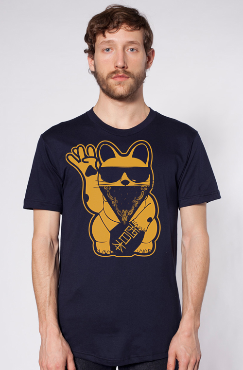 gold lucky west cat
